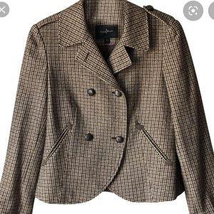Cole Haan Tweed/Plaid/Checked Blazer